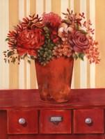 Flowers In Vase On Dresser Fine-Art Print