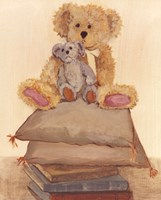 Two Bears On Pillows Fine-Art Print