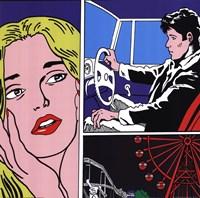 Man, Woman, Ferris Wheel Fine-Art Print