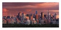 Sunrise Over New York Fine-Art Print