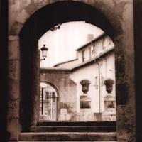 Courtyard In Burgos Fine-Art Print