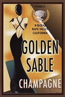 Golden Sable I Fine-Art Print