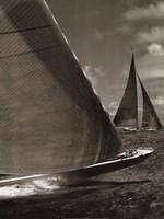 Sepia Sails I Fine-Art Print