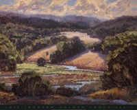 Golden Foothills I Fine-Art Print