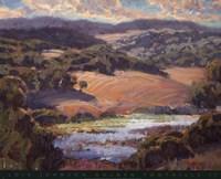 Golden Foothills II Fine-Art Print