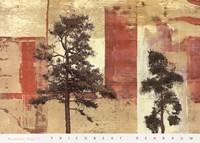 Parchment Trees II Fine-Art Print