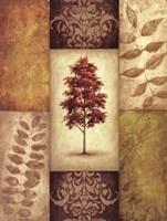 Red Magnolia Tree Fine-Art Print