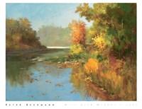 Mist Over Murphy's Lake Fine-Art Print