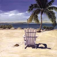 Beach Chair Fine-Art Print