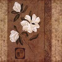 Magnolia Stripe I Fine-Art Print
