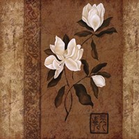 Magnolia Stripe II Fine-Art Print