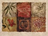 Oriental Medley I Fine-Art Print