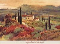 September In Tuscany II Fine-Art Print