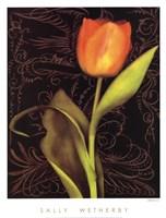 Tulip Manuscript I Fine-Art Print