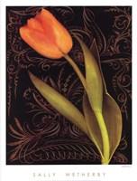 Tulip Manuscript II Fine-Art Print