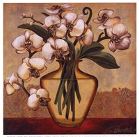 White Autumn Orchids Fine-Art Print