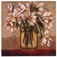 White Autumn Magnolias Fine-Art Print