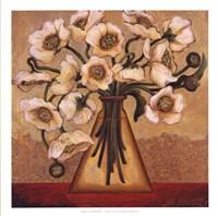 White Autumn Poppies Fine-Art Print