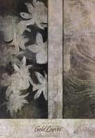 Gold Leaves Fine-Art Print