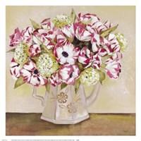 Floral Teapot I Fine-Art Print