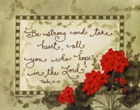 Hope In The Lord Fine-Art Print