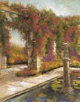 English Garden I Fine-Art Print