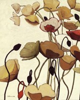 Pavots Ondule I Fine-Art Print
