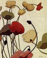Pavots Ondule II Fine-Art Print