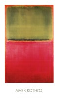 Green, Red, on Orange Fine-Art Print