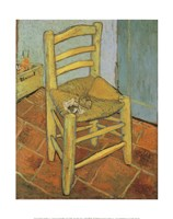 Van Gogh's Chair and Pipe, c.1888 Fine-Art Print