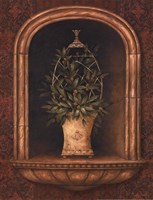 Olive Topiary Niches I - Mini Fine-Art Print