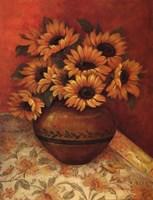 Tuscan Sunflowers II Fine-Art Print