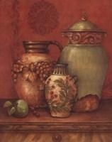 Tuscan Urns II - Mini Fine-Art Print