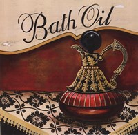 Bath Oil - Mini Framed Print