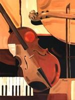 Abstract Violin - Mini Fine-Art Print