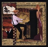 Jazz Piano - Mini Fine-Art Print