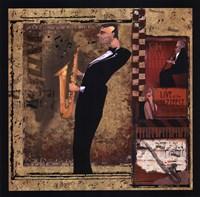 Jazz Sax - Mini Fine-Art Print