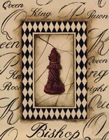 Chess Bishop - Mini Fine-Art Print