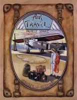 Flight Souvenir - Mini Fine-Art Print