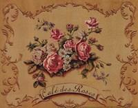 Cafe Des Roses - Mini Fine-Art Print
