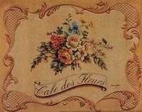 Cafe Des Fleurs - Mini Fine-Art Print