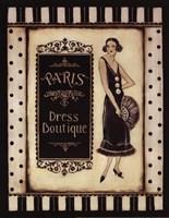 Paris Dress Boutique - Mini Fine-Art Print