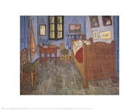 The Bedroom at Arles, c.1887 Fine-Art Print