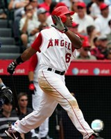 Garret Anderson - 2007 Batting Action Fine-Art Print