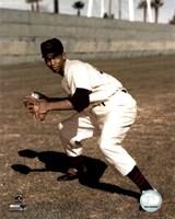 Ernie Banks - Fielding, posed Fine-Art Print