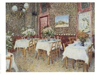Interior of a Restaurant, c.1888 Fine-Art Print