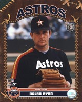 Nolan Ryan - Studio Plus (Astros) Fine-Art Print