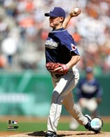 Jake Peavy - 2007 Pitching Action Fine-Art Print
