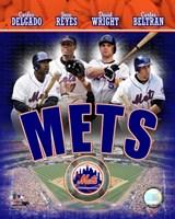 2007 - Mets Big 4 Hitters Fine-Art Print