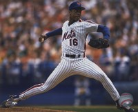 Dwight Gooden - 1988 Action Fine-Art Print